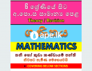 Mathematics Classes for Grade 6 to O/L (Theory/Rev