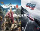 Farcry 4 and NFS Rivals