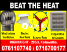 Exhaust fans, air ventilation srilanka, roof venti