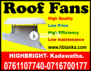 Roof exhaust fan Srilanka, Roof extractors , venti