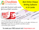 Cheque Writing / Printing Software